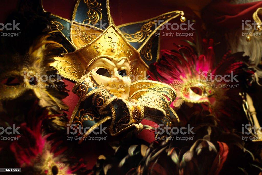 Venetian Masks royalty-free stock photo