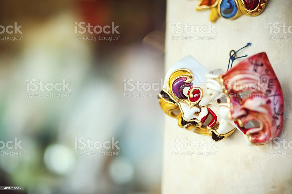 Venetian Masks royalty-free stock photo