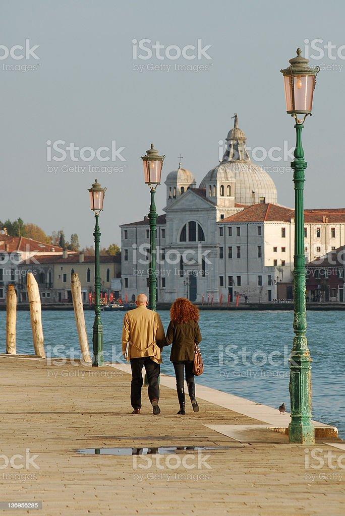 Venetian Promenade #2 royalty-free stock photo