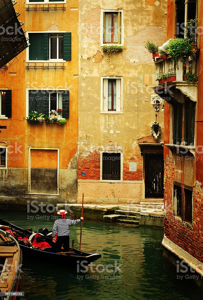 venetian 'street' royalty-free stock photo