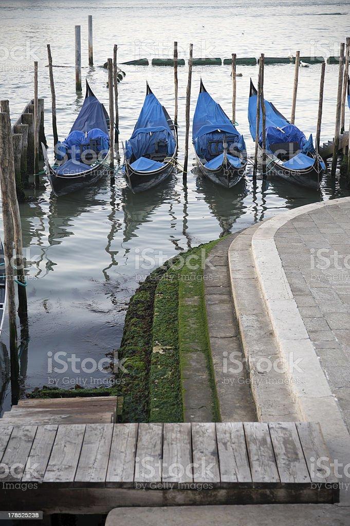 Venetian waterfront royalty-free stock photo