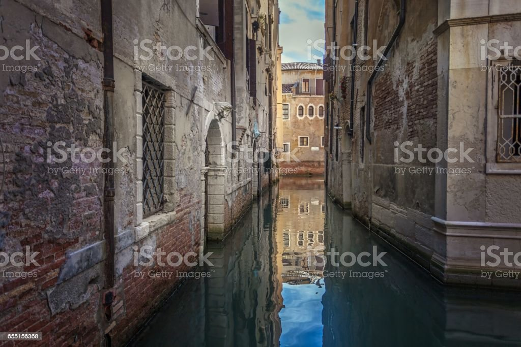 Venetian Waters stock photo