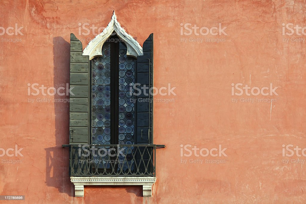 Venetian Window royalty-free stock photo