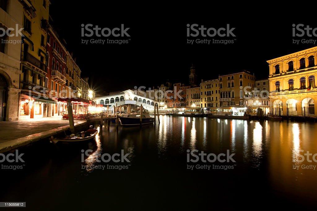 veneto by night royalty-free stock photo