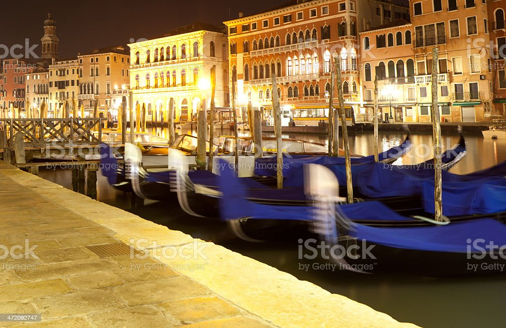 veneto by night royalty-free stock photo