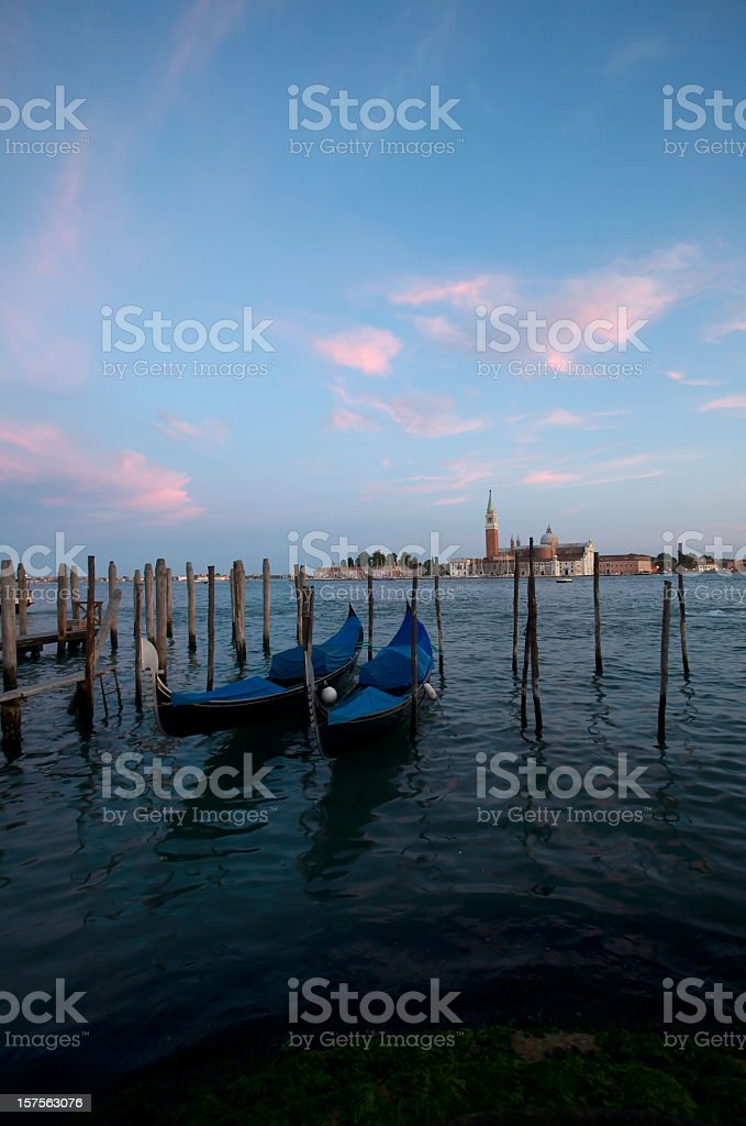 veneto by sunset royalty-free stock photo