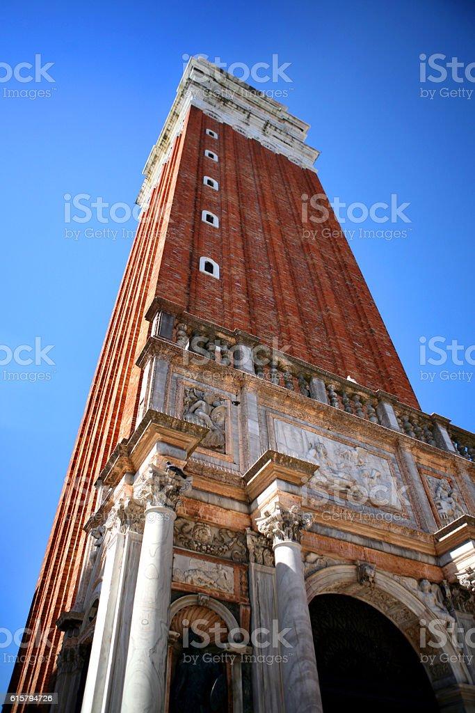 venezia campanile di san marco stock photo