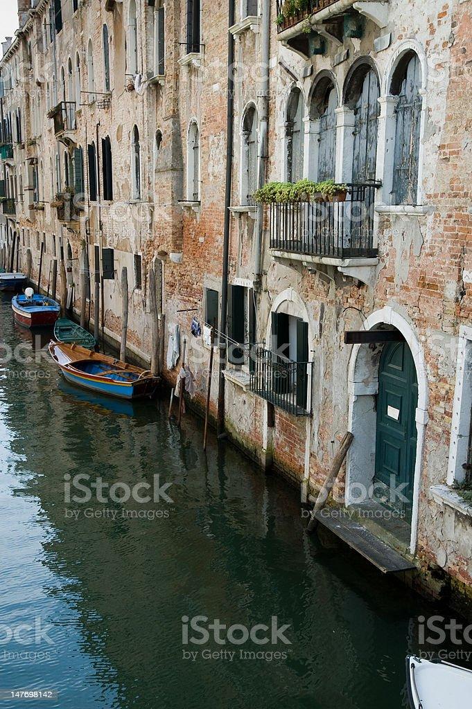 Venezia, canale stock photo