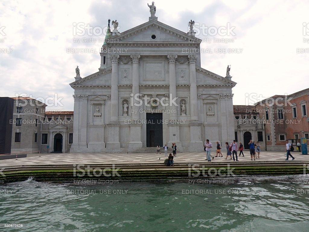 Venezia - Chiesa di san Giorgio Maggiore stock photo