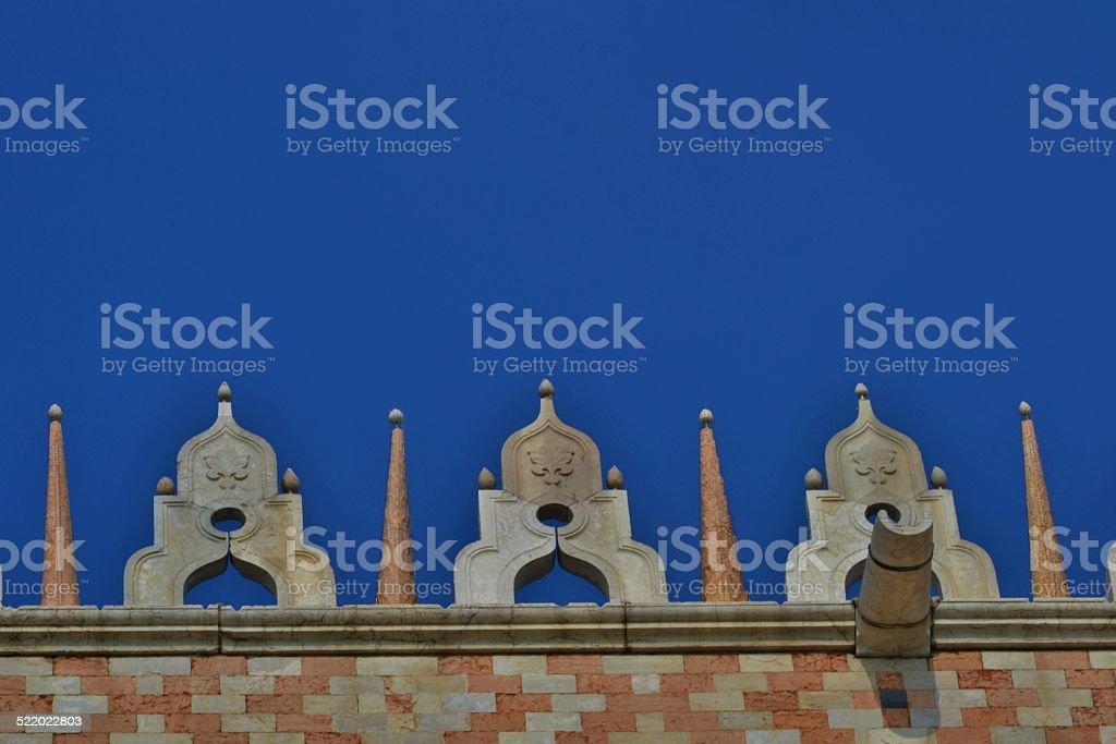 Venezia, Piazza San Marco. Architectural style stock photo