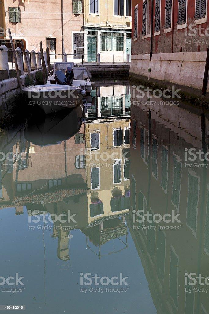 Venezian canal royalty-free stock photo