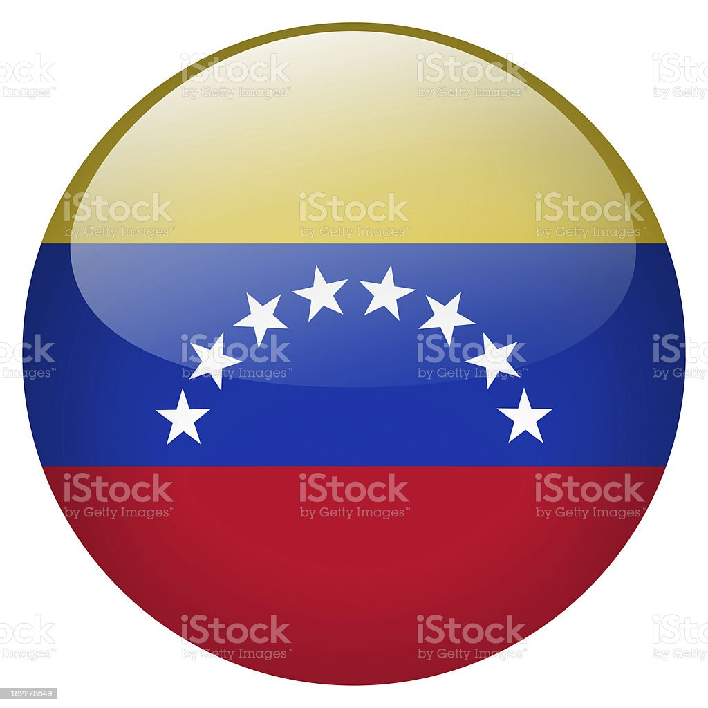 venezuela button royalty-free stock photo