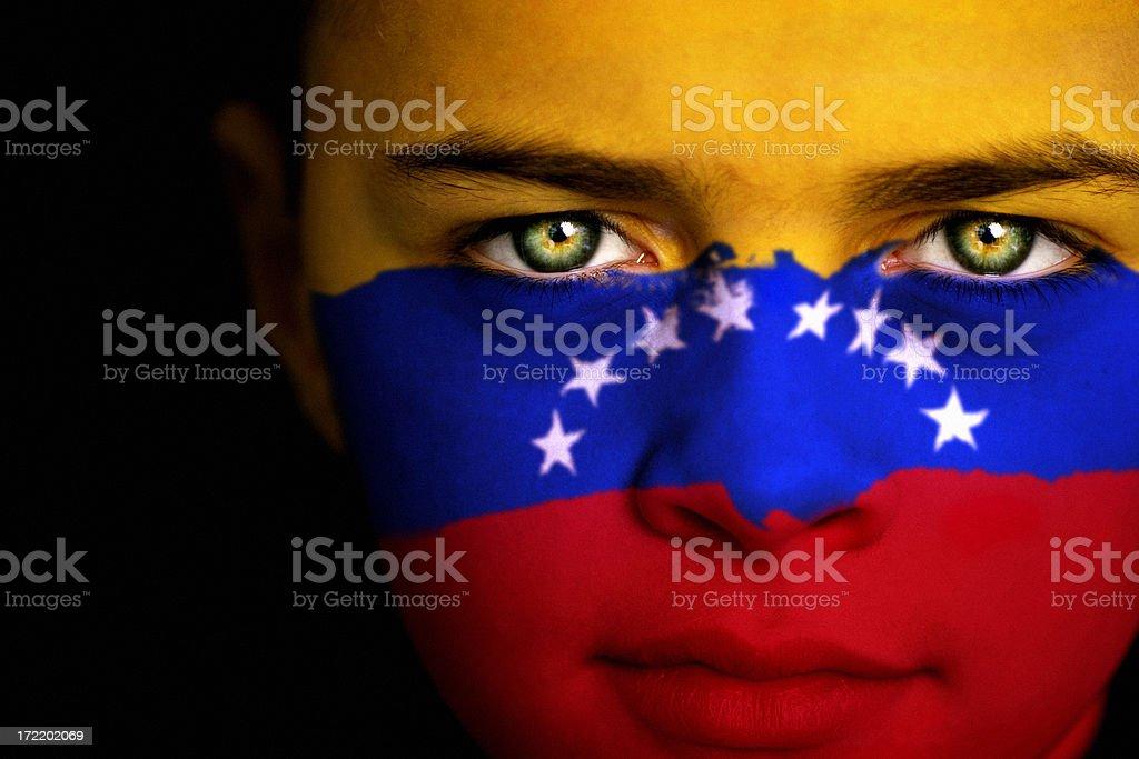 Venezuelan boy royalty-free stock photo