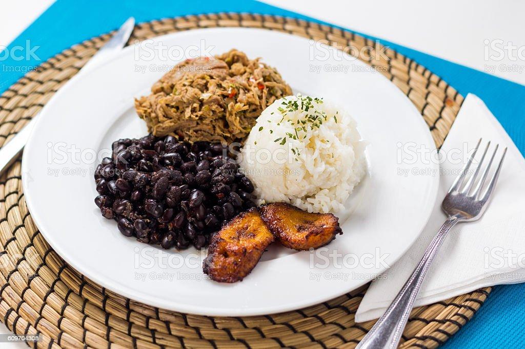 Venezuelan typical food stock photo