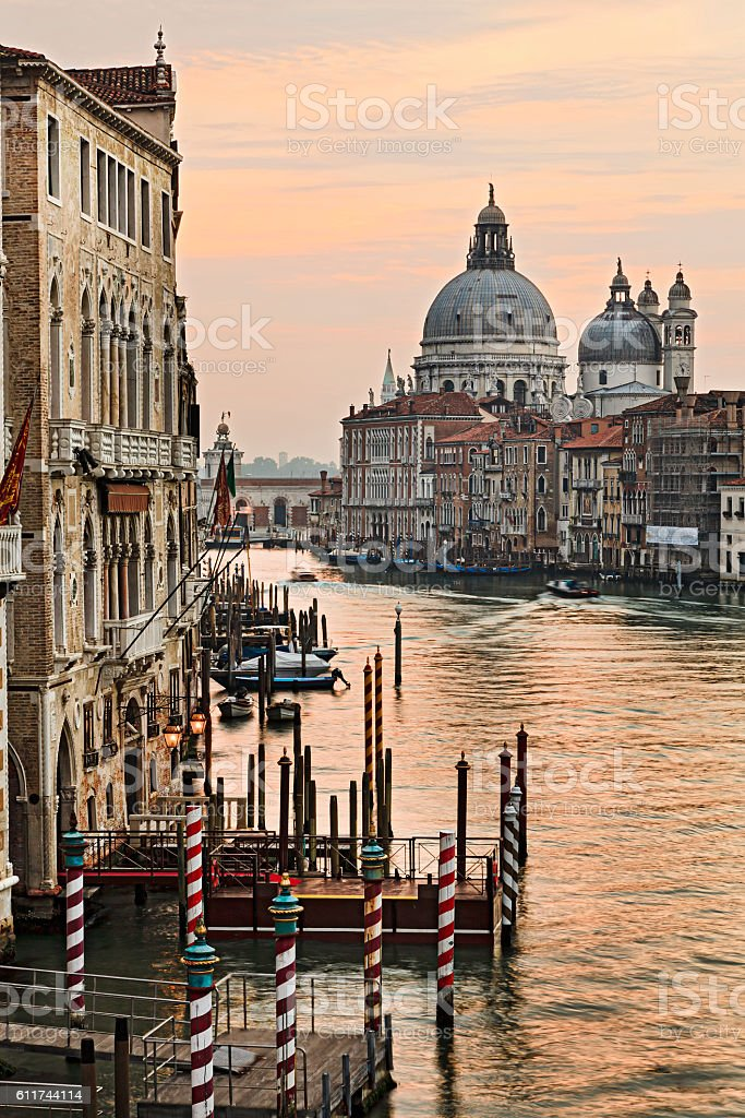Venice Academia Maria Vert Rise stock photo