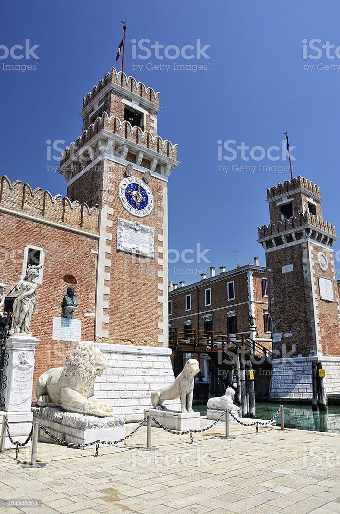 Venice arsenal royalty-free stock photo