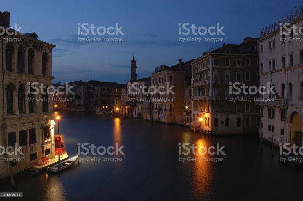 Venice at Dusk royalty-free stock photo