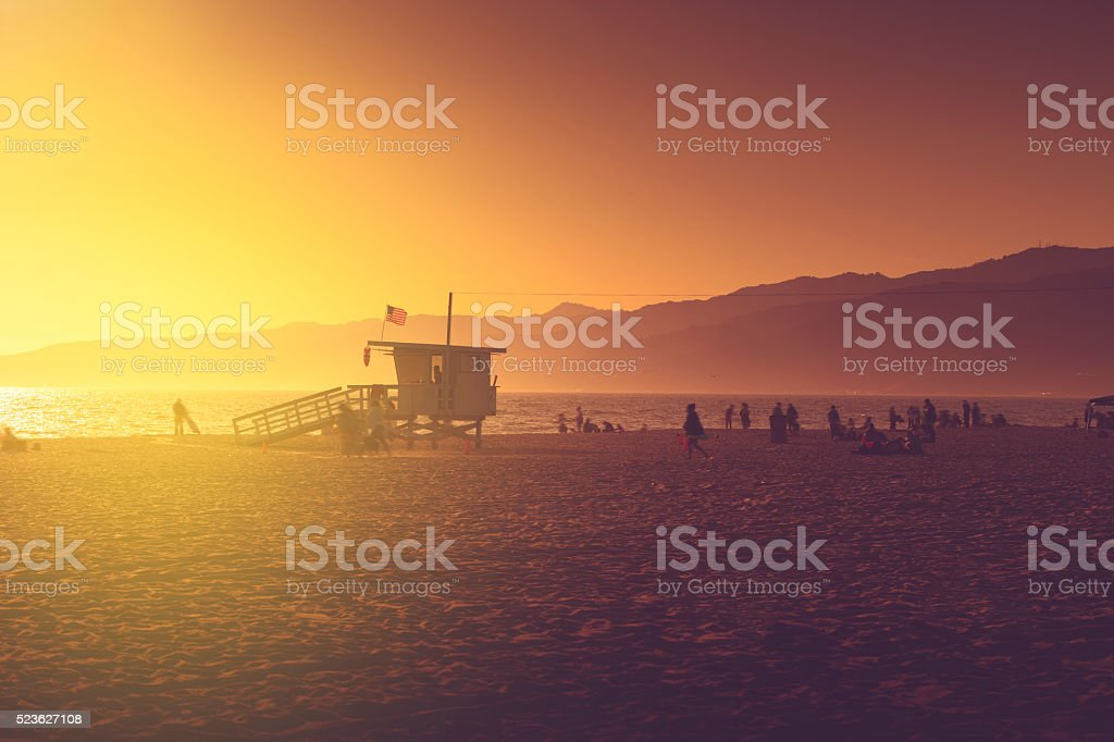 Venice Beach California stock photo