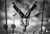Venice Beach gymnast