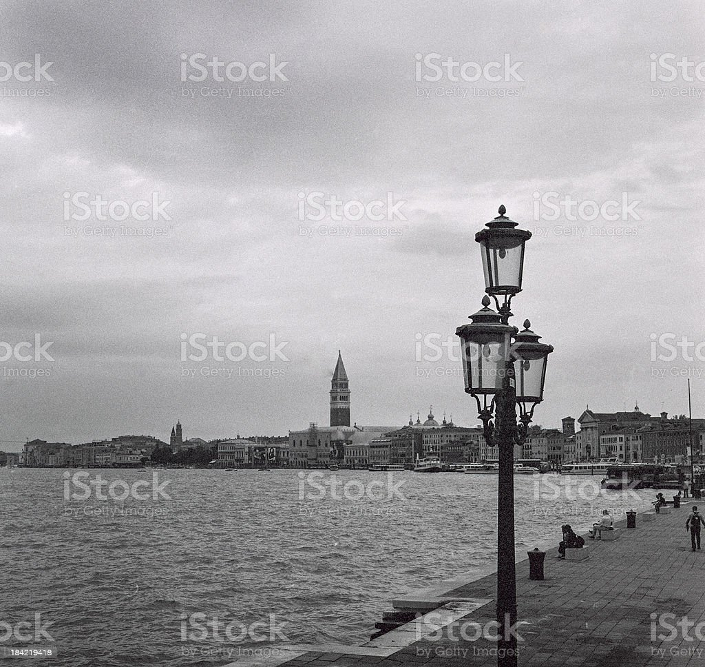Venice before the storm royalty-free stock photo