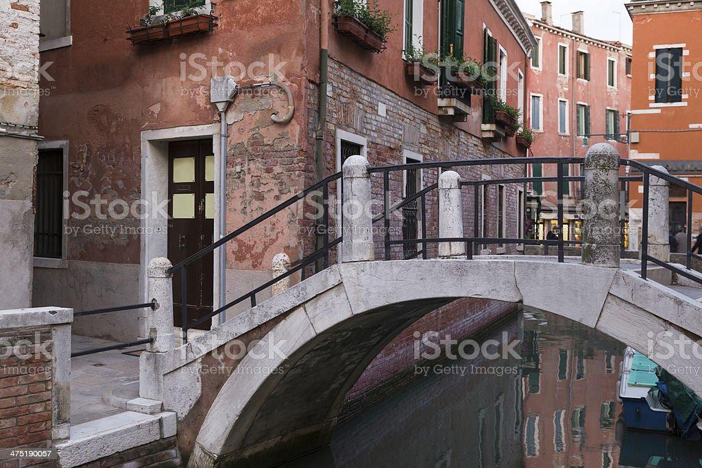 Venice bridge royalty-free stock photo