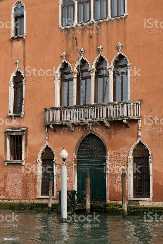 Venice building royalty-free stock photo