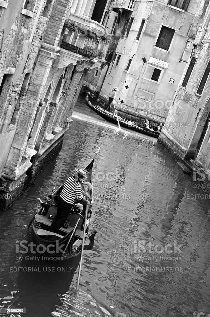 Venecia B&W royalty-free stock photo