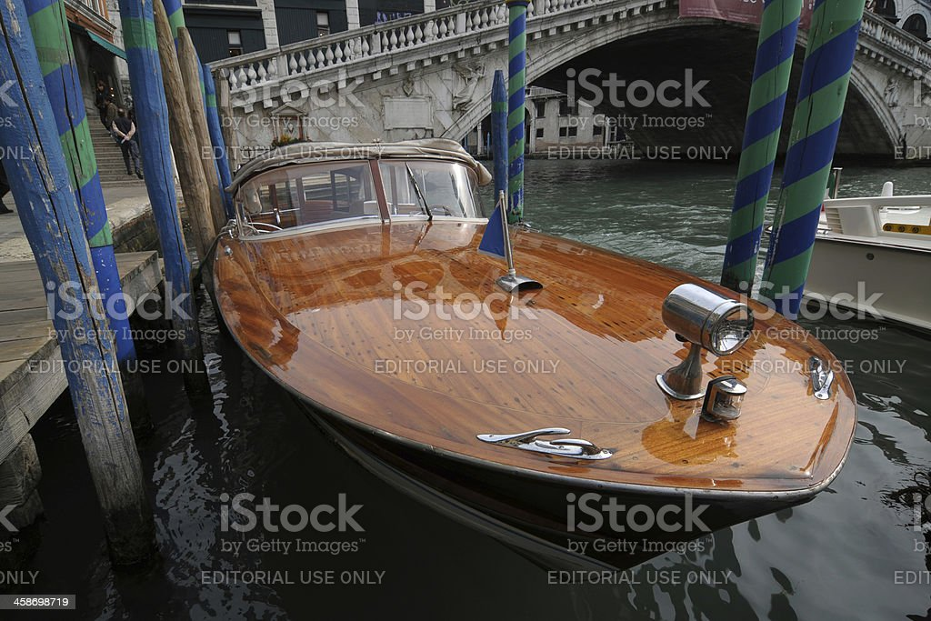 Venice cab royalty-free stock photo
