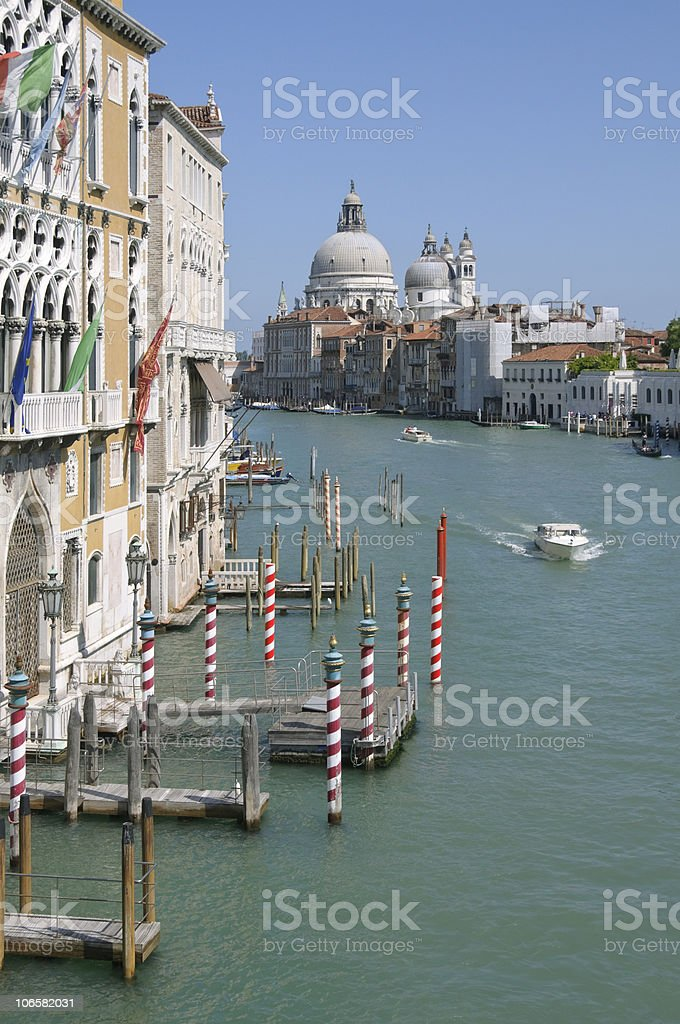 Venice: Canal Grande royalty-free stock photo