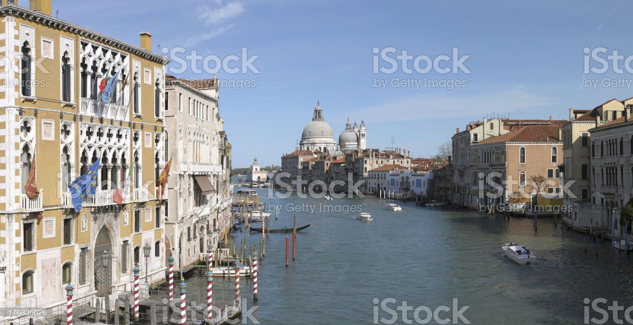 Venice: Canal Grande royalty-free stock photo