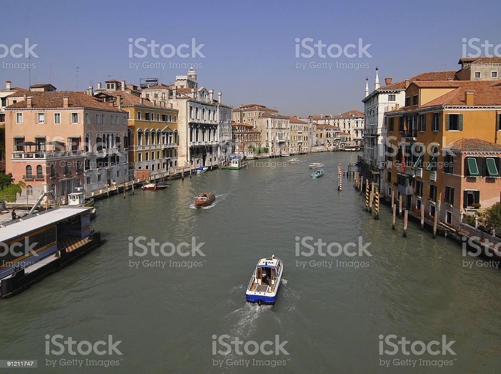 Venice: Canal Grande stock photo