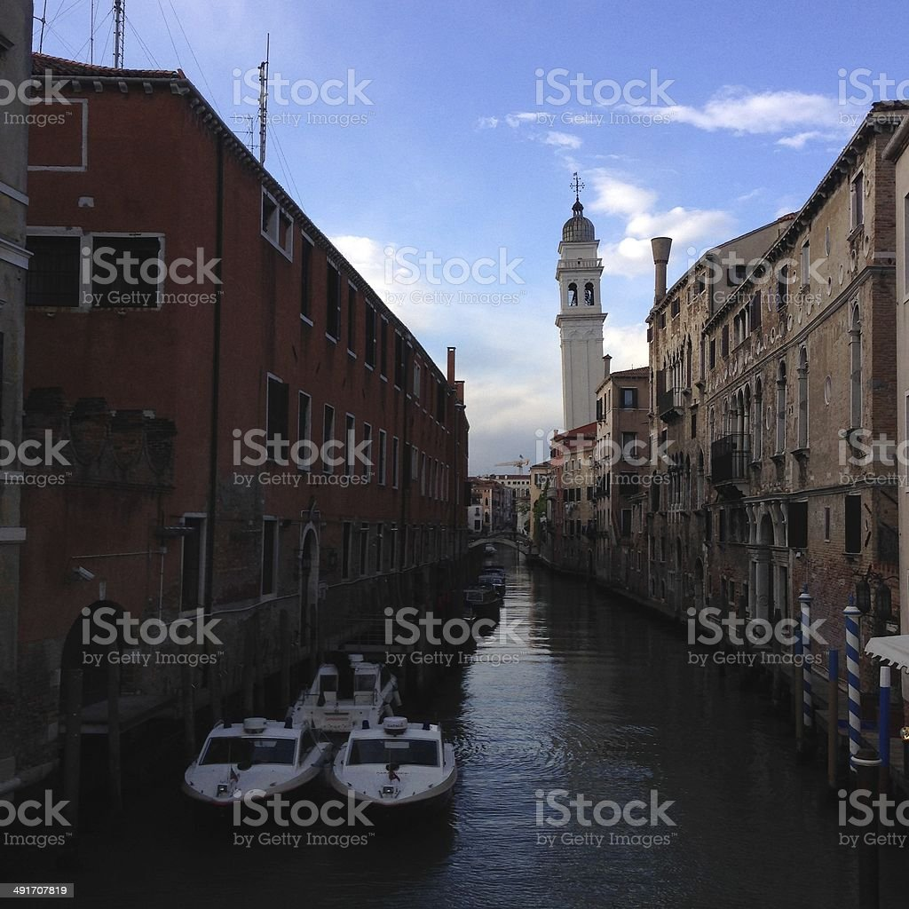 Venice canals royalty-free stock photo