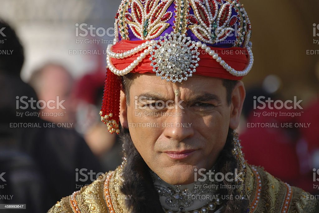 Venice Carnival 2009 royalty-free stock photo