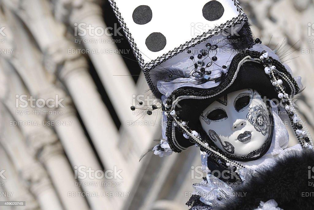 Venice Carnival 2009 royalty-free stock photo