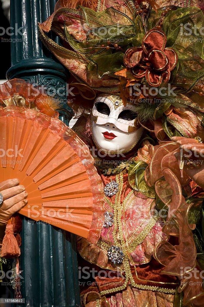 Venice Carnival 2010 royalty-free stock photo