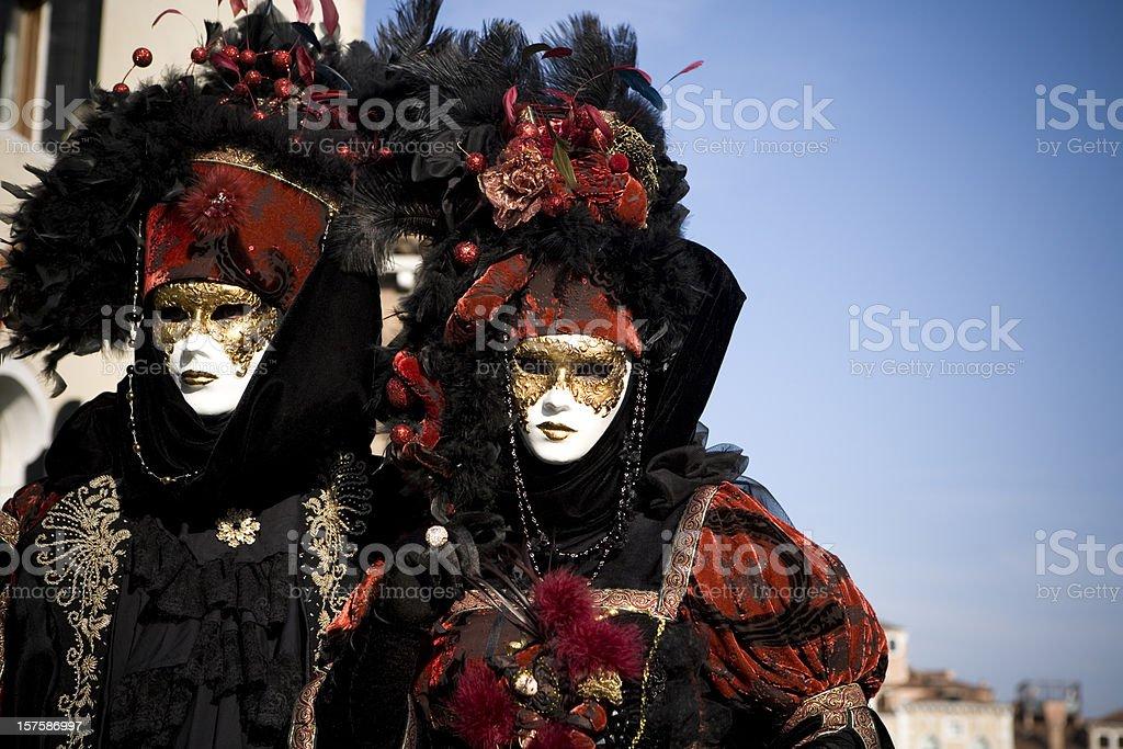 Venice Carnival 2010 stock photo