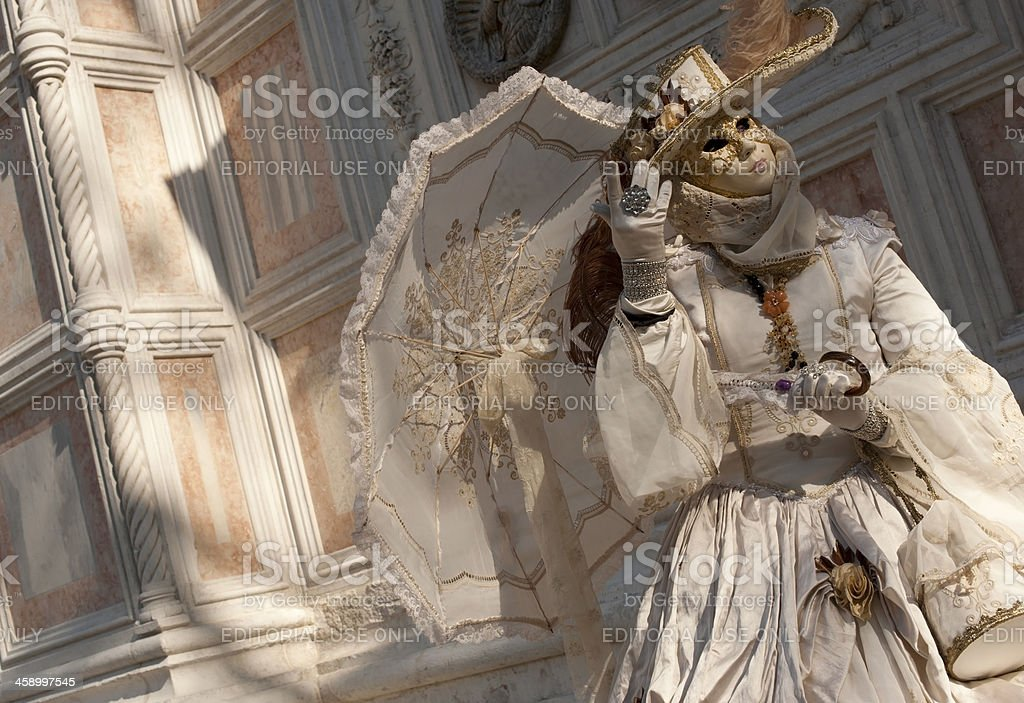 Venice Carnival 2012 royalty-free stock photo