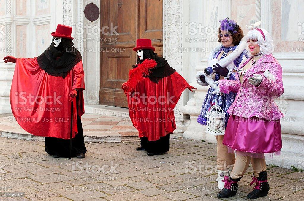 Venice Carnival 2012 stock photo
