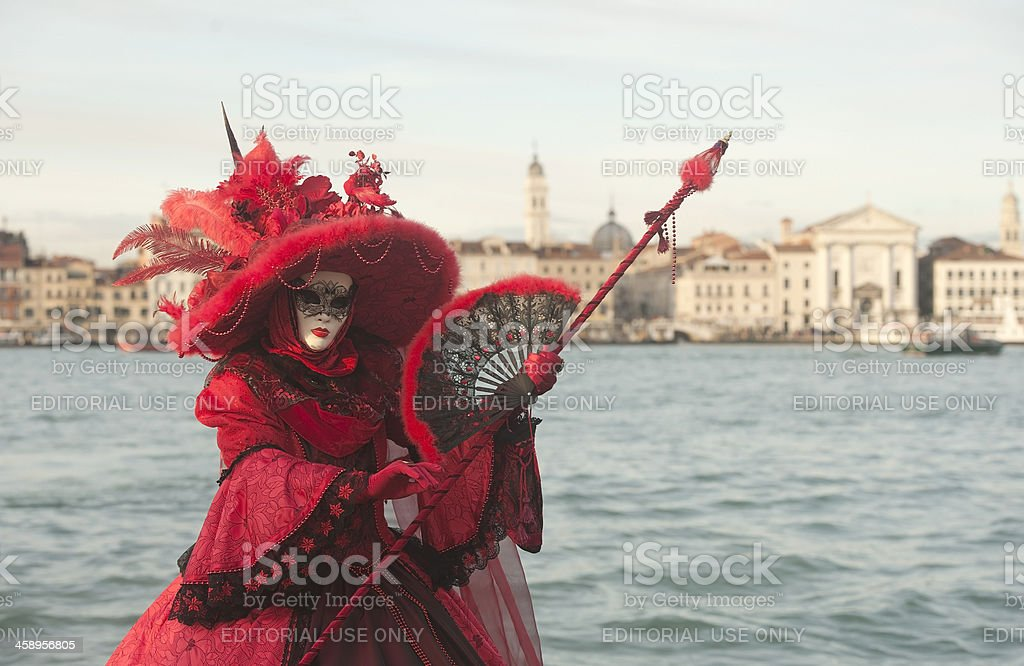 Venice Carnival 2013 stock photo