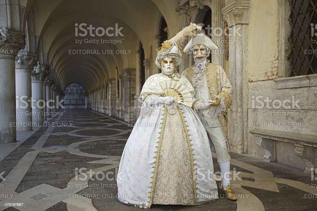 Venice Carnival 2014 royalty-free stock photo