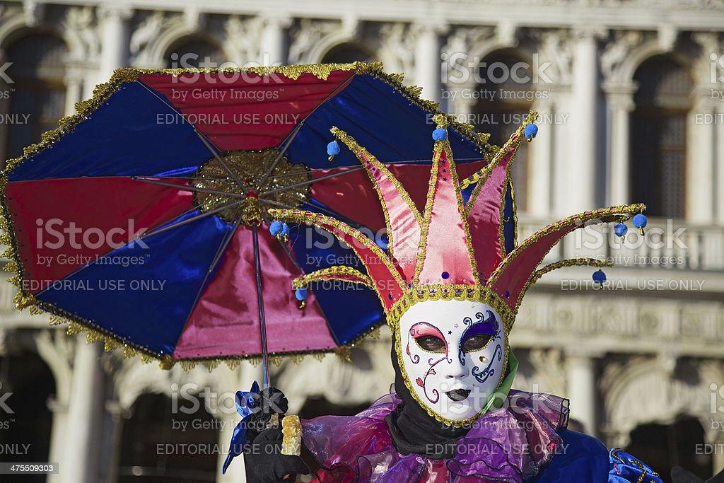 Venice Carnival 2014 royalty-free stock photo