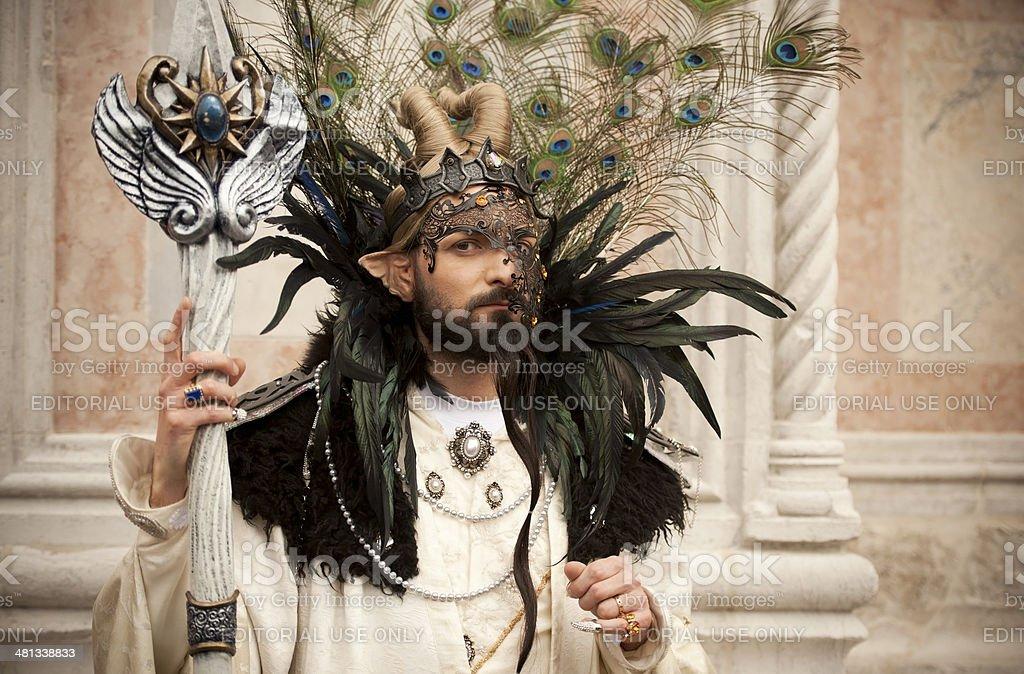 Venice Carnival 2014 stock photo