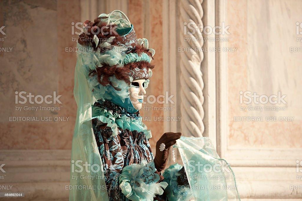 Venice Carnival 2015 stock photo