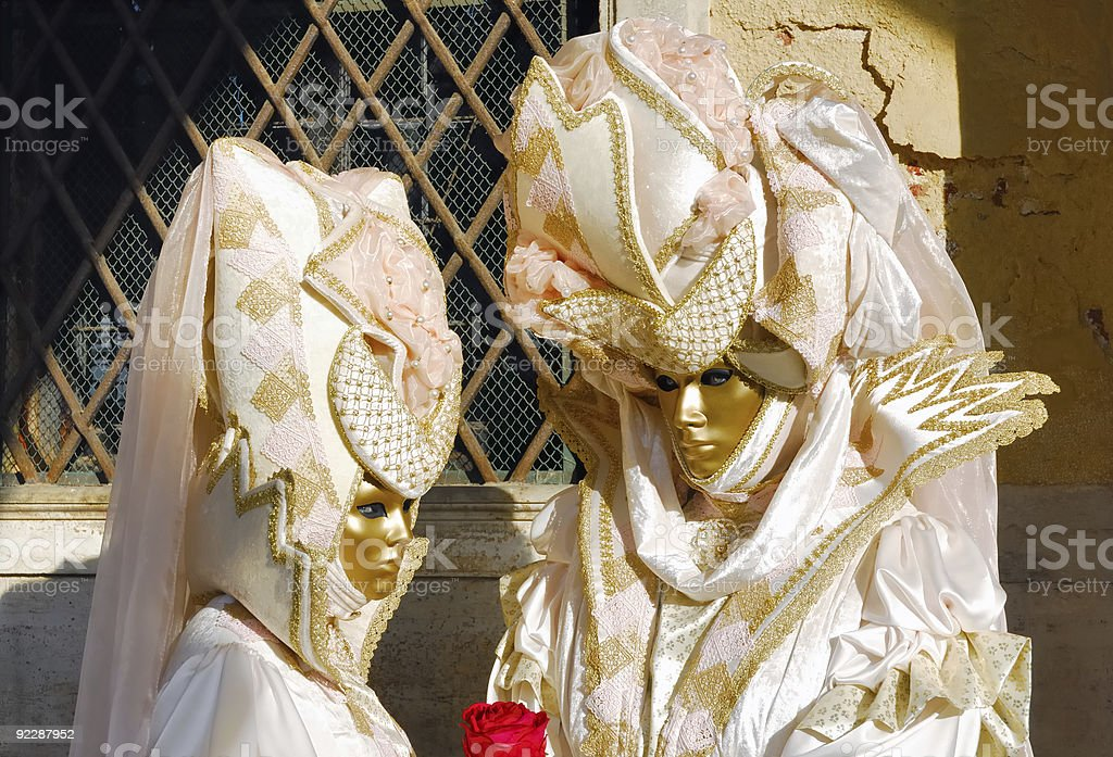 Venice carnival. From the orient royalty-free stock photo