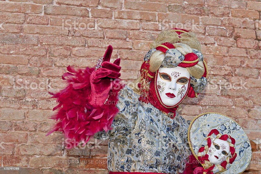 Venice Carnival III royalty-free stock photo