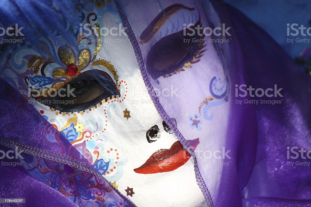 Venice carnival - Italy royalty-free stock photo