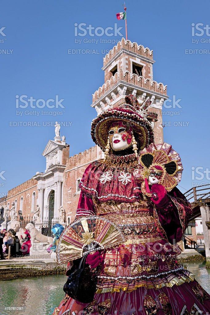 Venice Carnival IV royalty-free stock photo