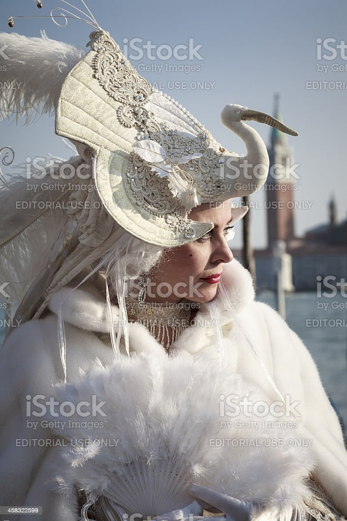 Venice Carnival Mask royalty-free stock photo
