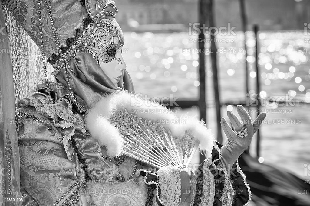 Venice Carnival royalty-free stock photo
