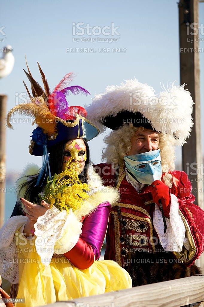 Venice Carnival royalty-free stock photo